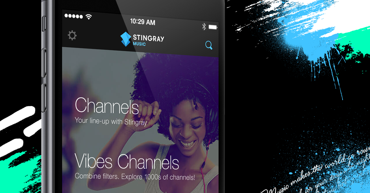 Stingray Music mobile app tops 2 million downloads
