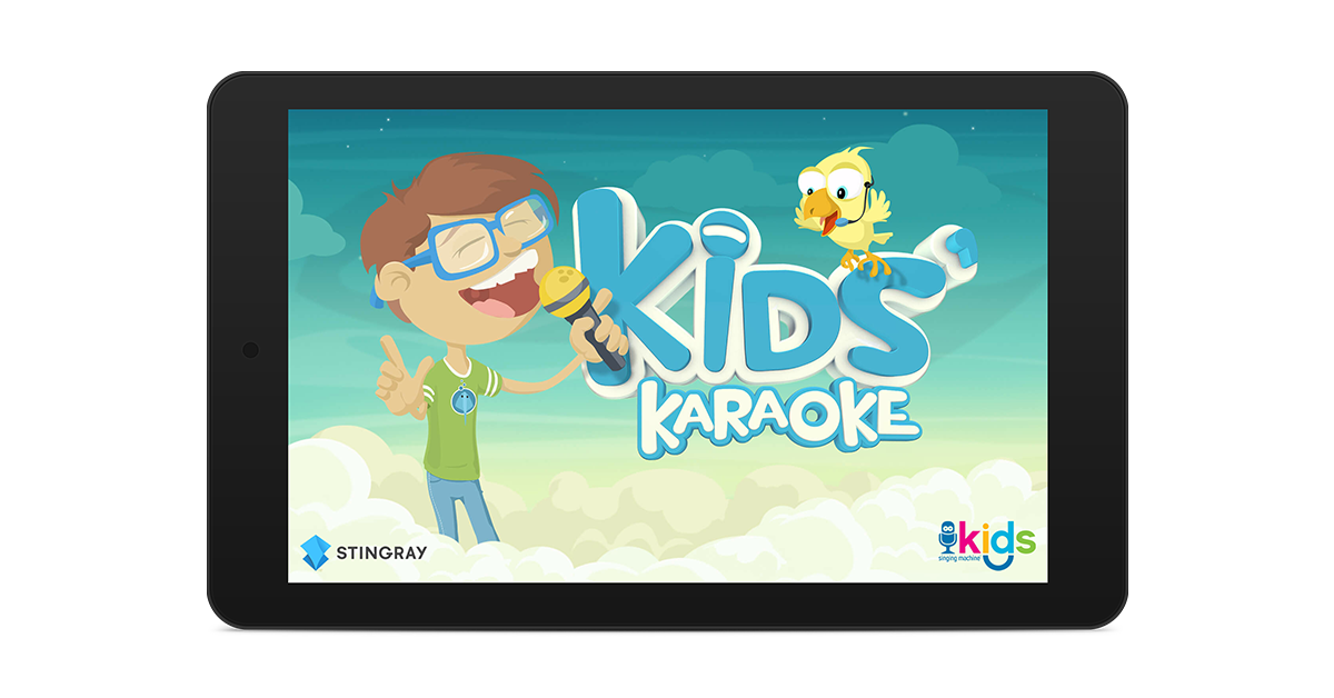 New Stingray Kids' Karaoke App