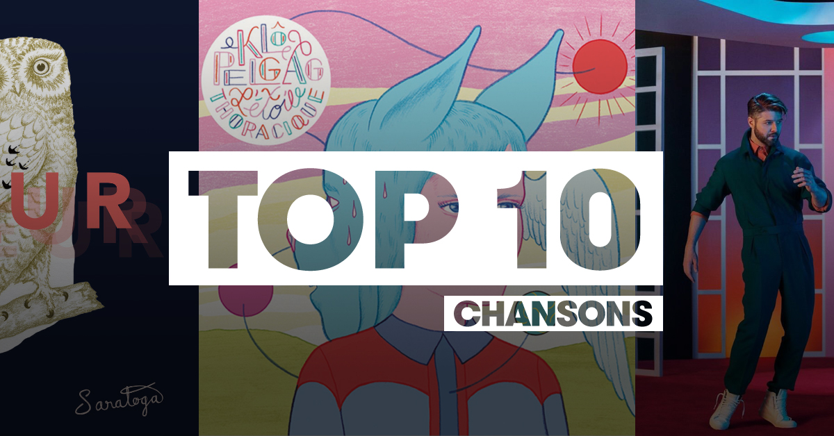 Top 10 | Chansons Franco 2017