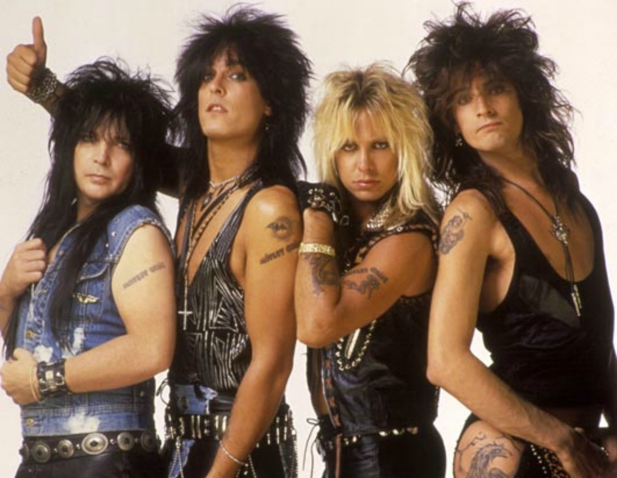 Hair metal band Motley Crue