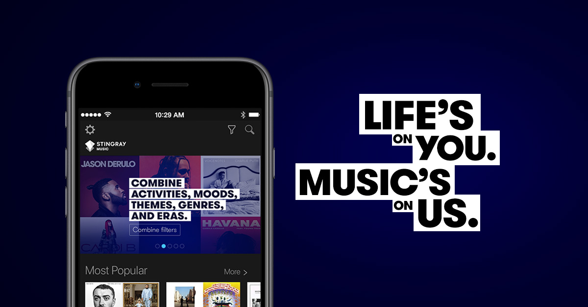 The Stingray Music mobile app revamp | Products