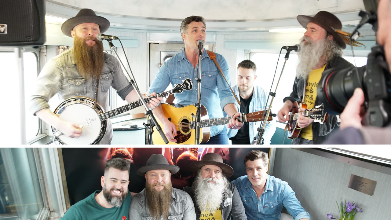 The Washboard Union and Zac Monson