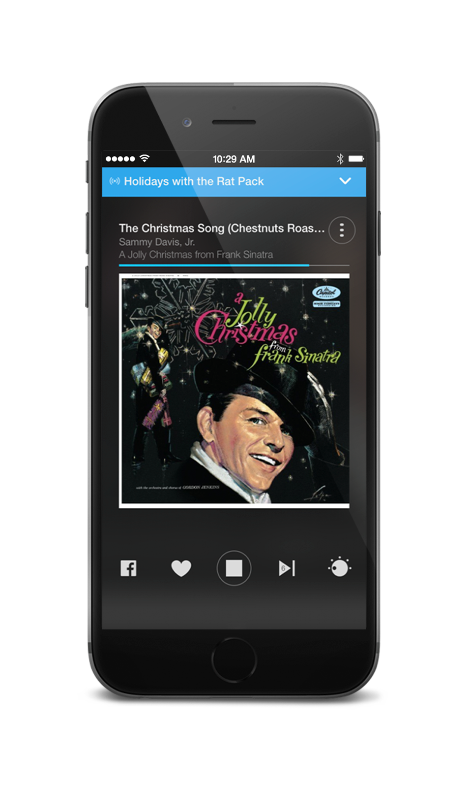 Stingray Music Mobile App - Rat Pack