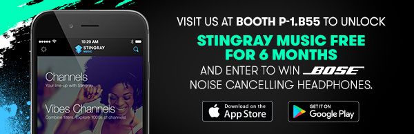 Download the Stingray Music mobile app and win Bose headphones